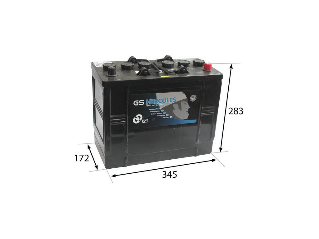 Startovací baterie GS GS Cargo Heavy Duty Battery GS-655HD