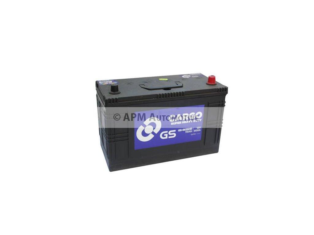 Startovací baterie GS GS Cargo Super Heavy Duty Battery GS-663SHD