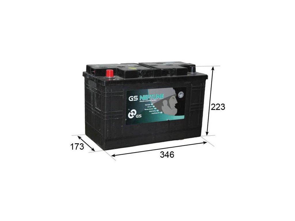 Startovací baterie GS GS Leisure Battery GS-L35-100