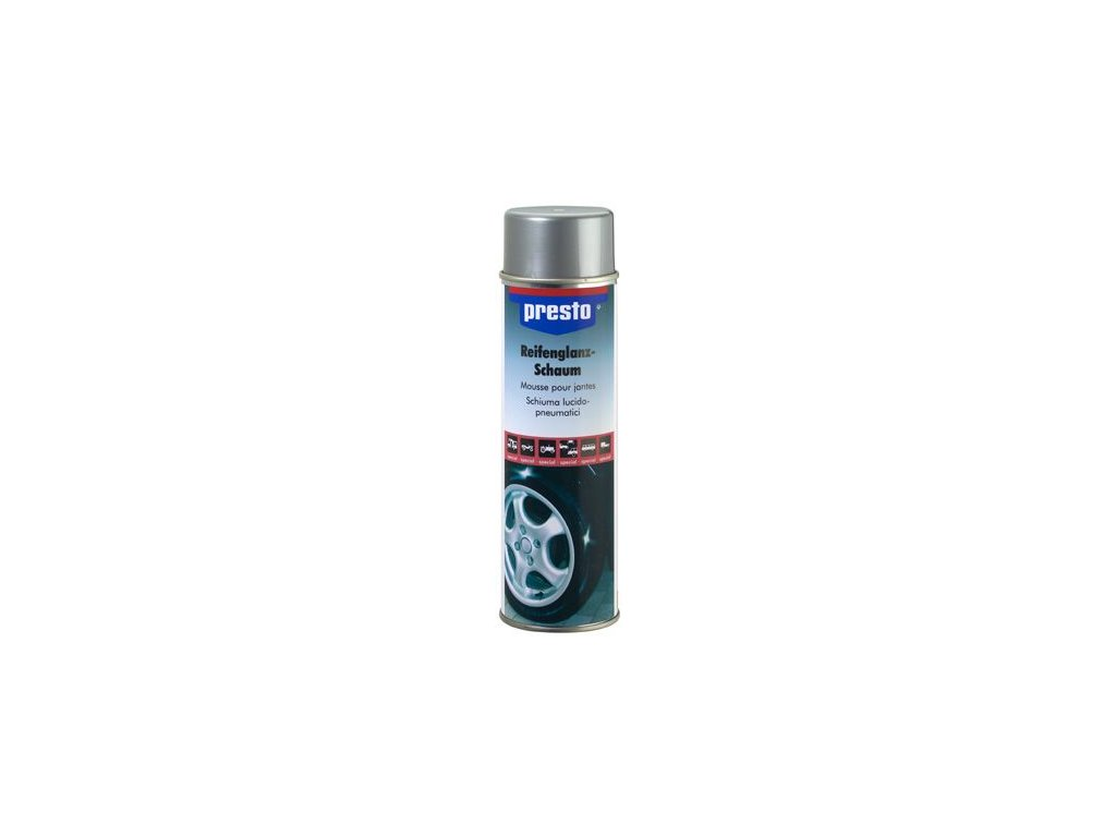 Cistic pneumatik PRESTO Reifenglanz- Schaum 500ml 157189