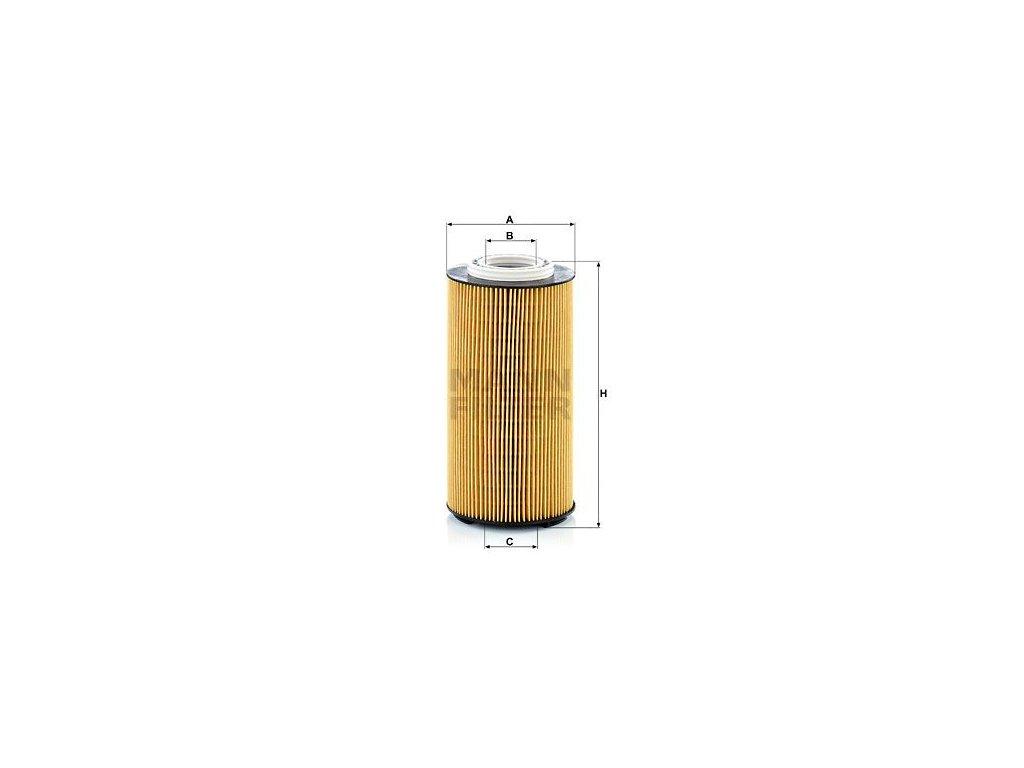 Olejový filtr MANN-FILTER HU 12 009 z