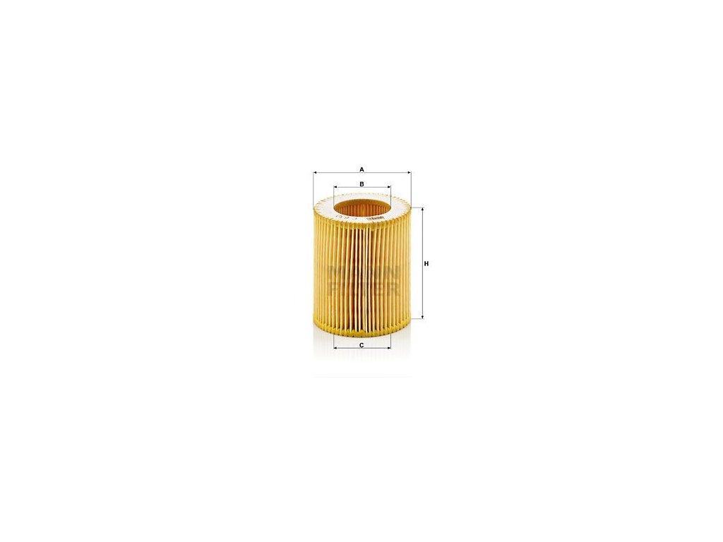 Vzduchový filtr MANN-FILTER Picolino C 630
