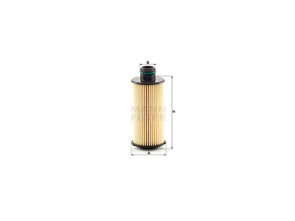 Olejový filtr MANN-FILTER HU 6026 z