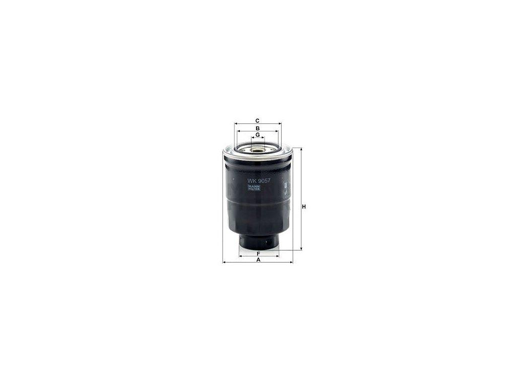 Palivový filtr MANN-FILTER WK 9057 z