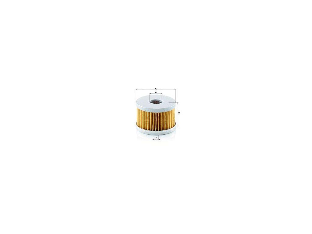 Vzduchový filtr MANN-FILTER C 64/3