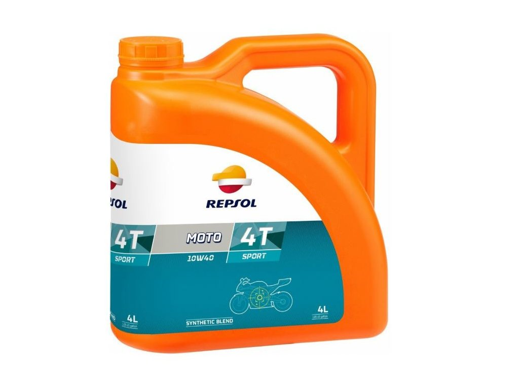 Repsol Moto Sport 4T 10W-40 4L