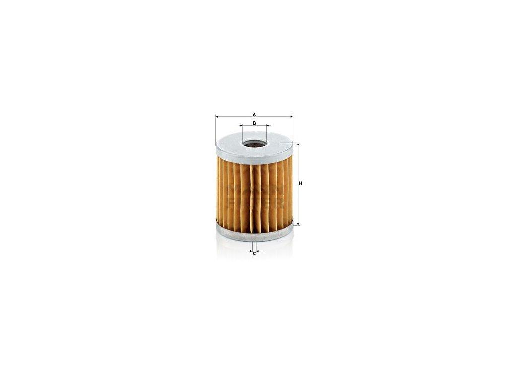 Vzduchový filtr MANN-FILTER C 66