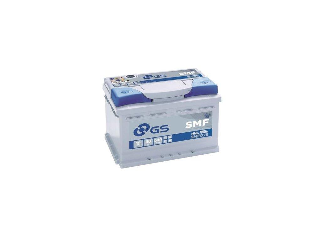 Startovací baterie GS GS SMF Battery SMF075