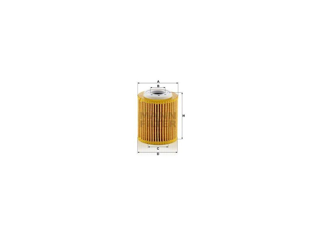 Olejový filtr MANN-FILTER HU 7032 z