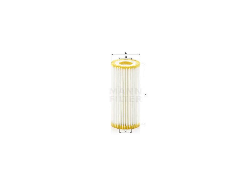 Olejový filtr MANN-FILTER HU6013z