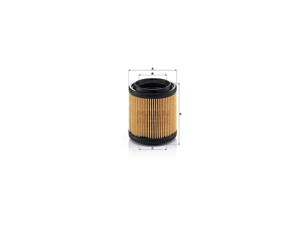 Vzduchový filtr MANN-FILTER C 710/1