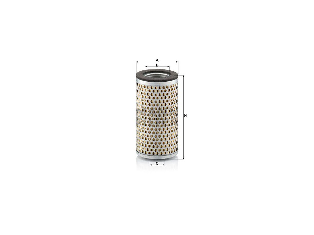 Vzduchový filtr MANN-FILTER C 713