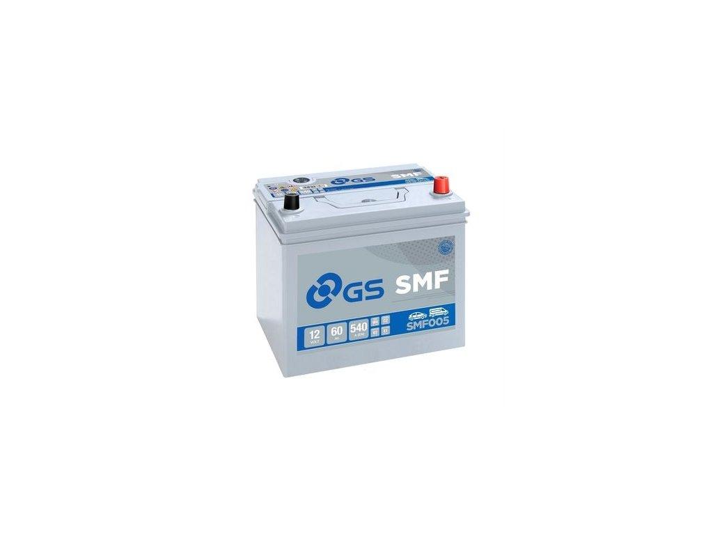 Startovací baterie GS GS SMF Battery SMF005