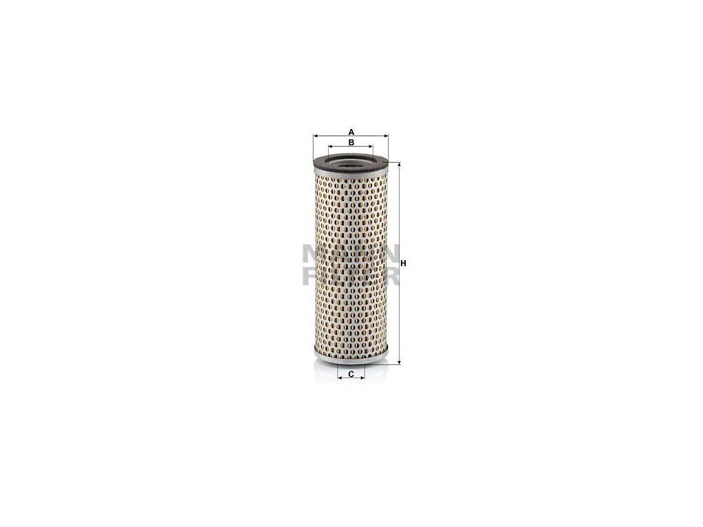 Vzduchový filtr MANN-FILTER C 718