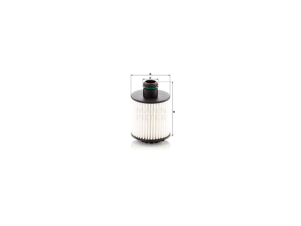 Olejový filtr MANN-FILTER HU7042z
