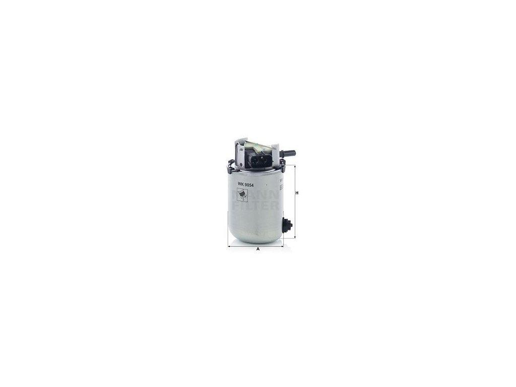 Palivový filtr MANN-FILTER WK9054