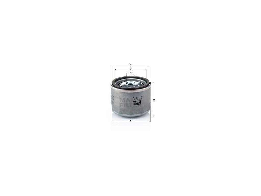 Vzduchový filtr MANN-FILTER C 77/7