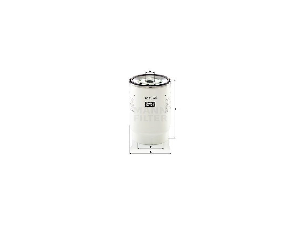 Palivový filtr MANN-FILTER WK 11 029 z