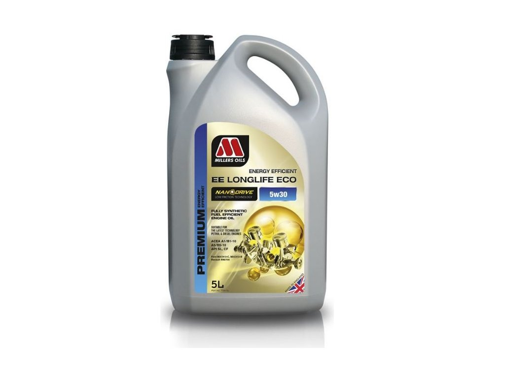 Millers Oils EE LongLife Eco 5W-30 5L
