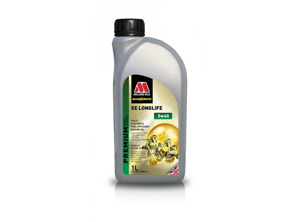 Millers Oils EE LongLife 5W-40 1L