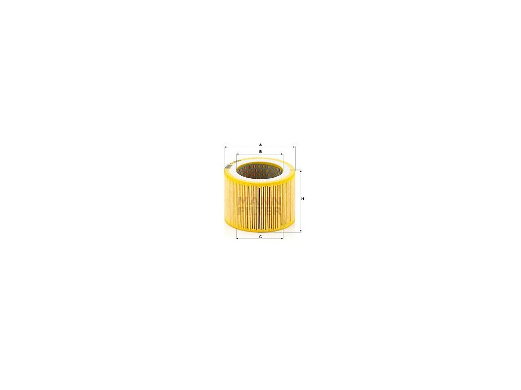 Vzduchový filtr MANN-FILTER C 8005