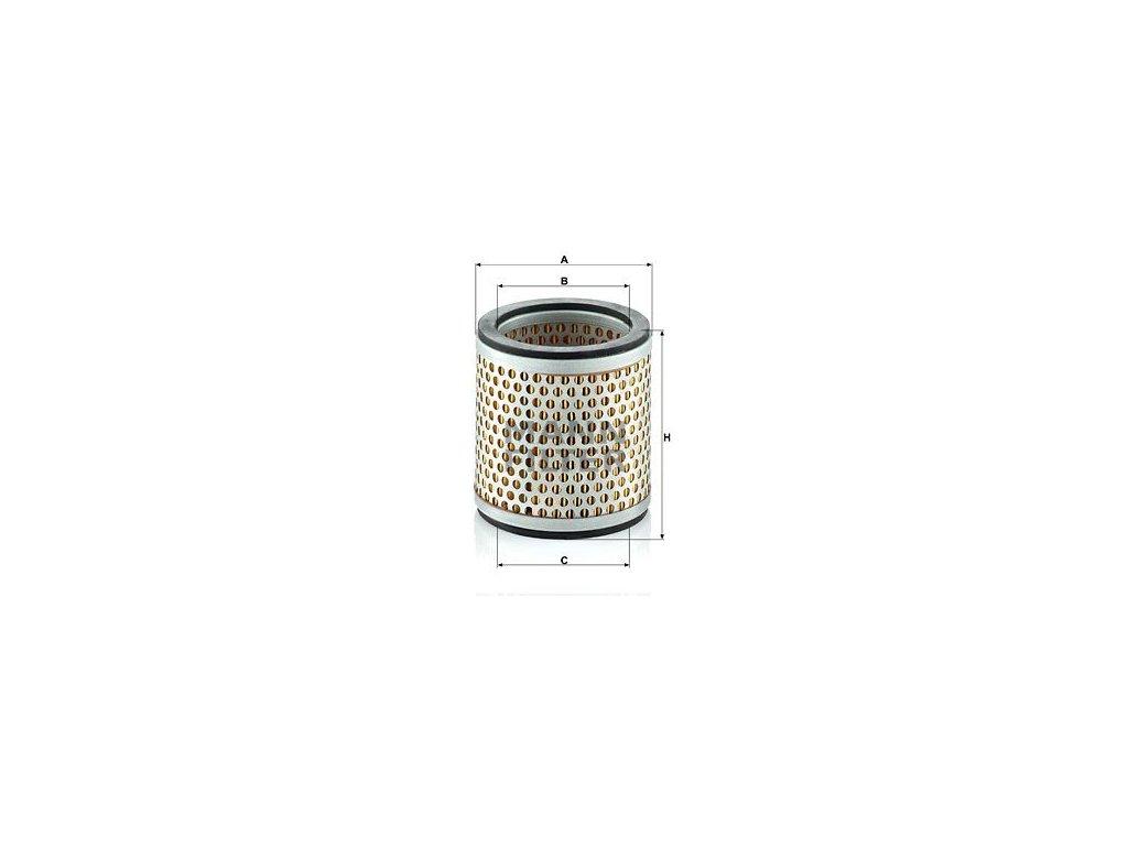 Vzduchový filtr MANN-FILTER C 89/1