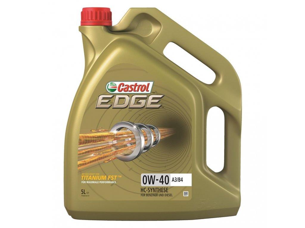 Castrol Edge Titanium FST A3/B4 0W-40 5L