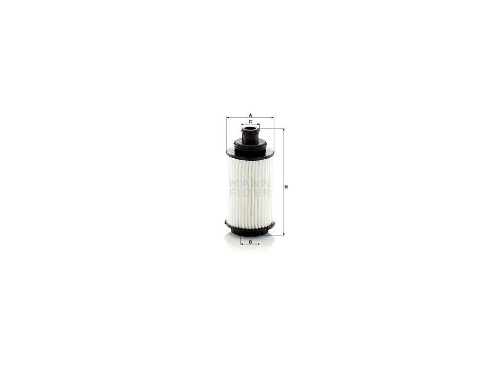 Olejový filtr MANN-FILTER HU 6023 z