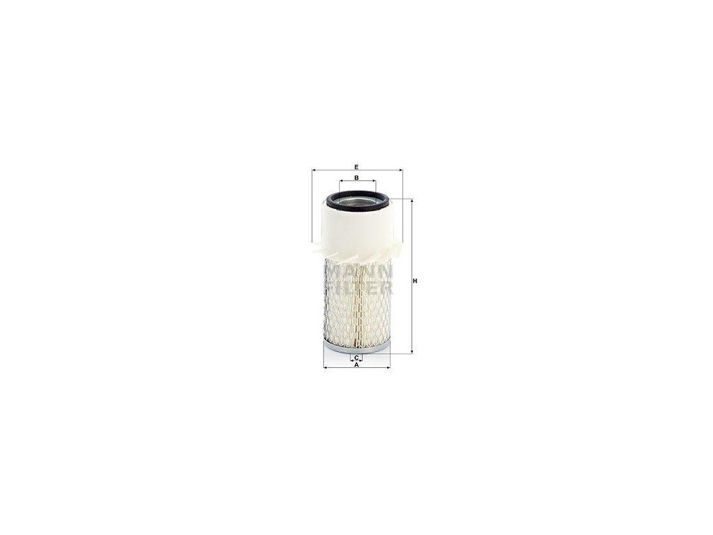 Vzduchový filtr MANN-FILTER C 934 x