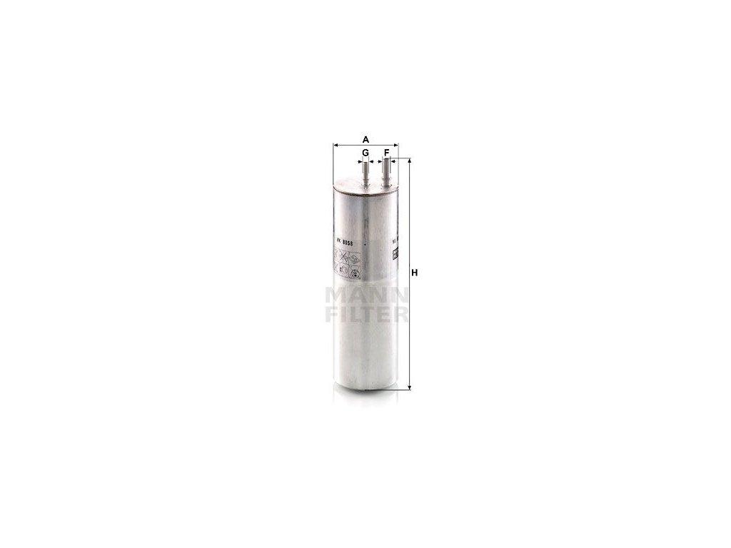 Palivový filtr MANN-FILTER WK 8058