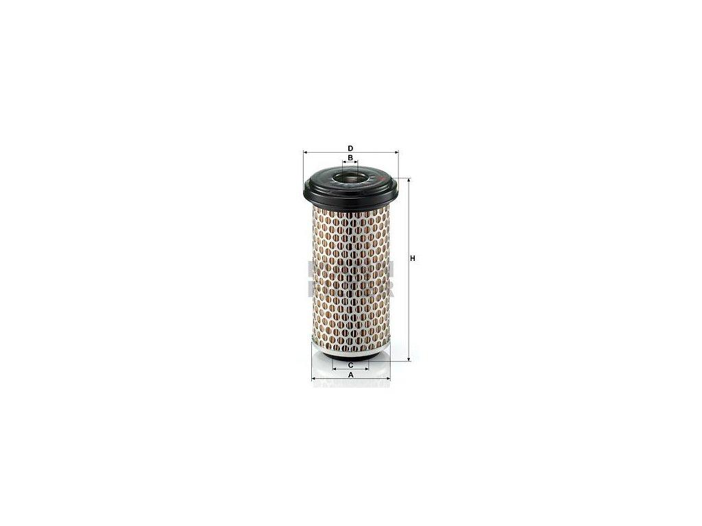 Vzduchový filtr MANN-FILTER C 940