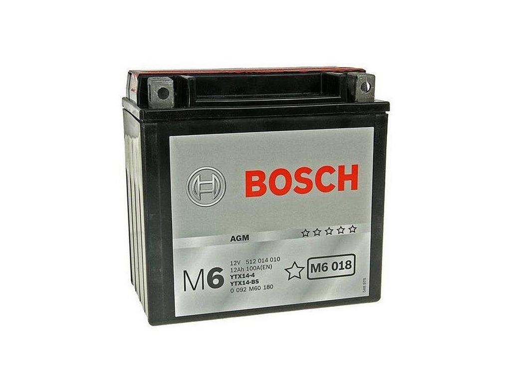 Startovací baterie BOSCH M6 0 092 M60 180