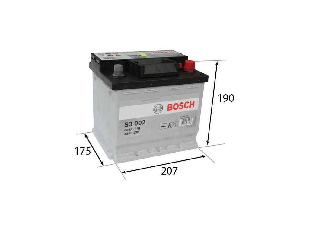 Startovací baterie BOSCH S3 0 092 S30 020