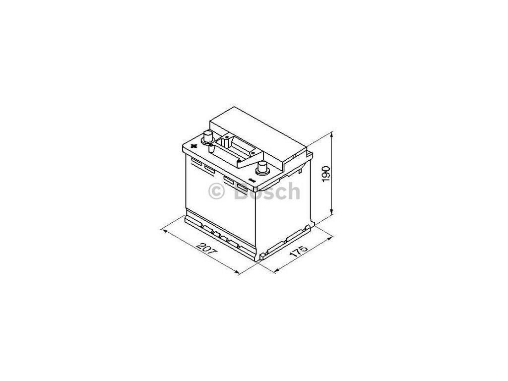 Startovací baterie BOSCH S3 0 092 S30 030