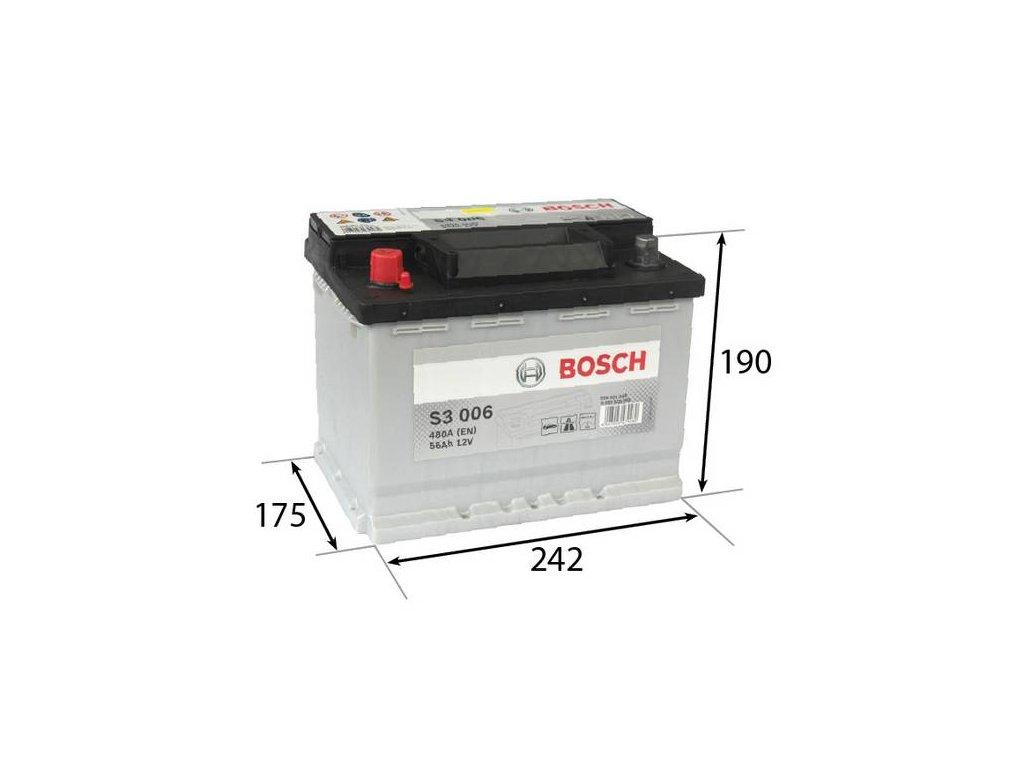 Startovací baterie BOSCH S3 0 092 S30 060