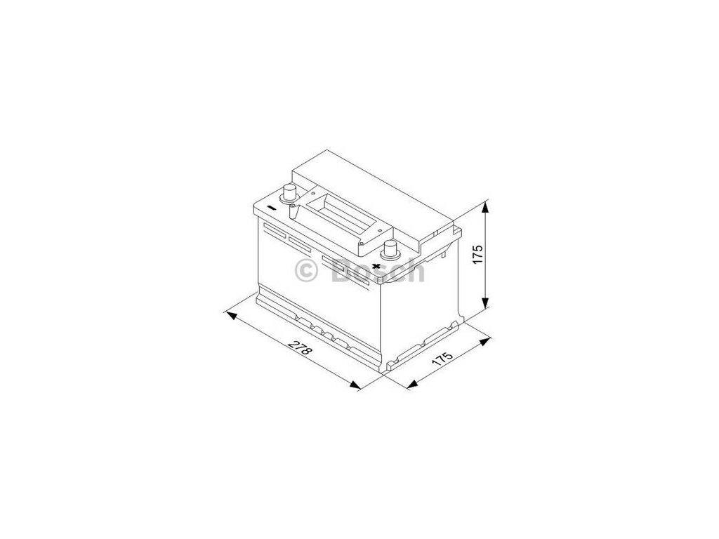 Startovací baterie BOSCH S3 0 092 S30 070