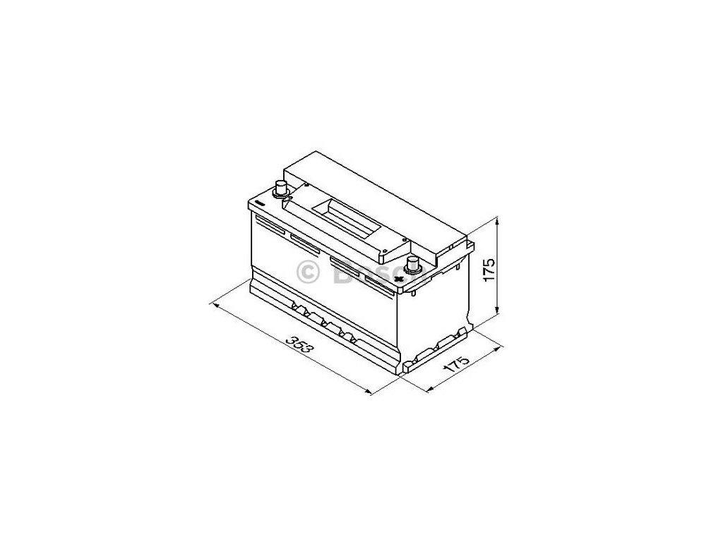 Startovací baterie BOSCH S3 0 092 S30 120