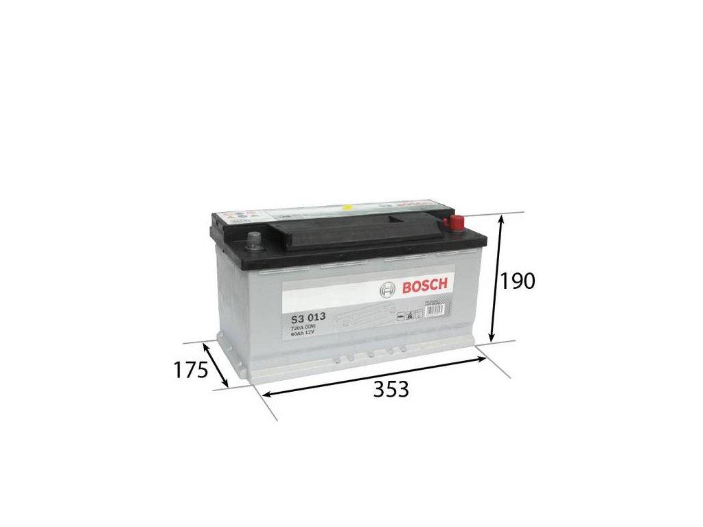 Startovací baterie BOSCH S3 0 092 S30 130