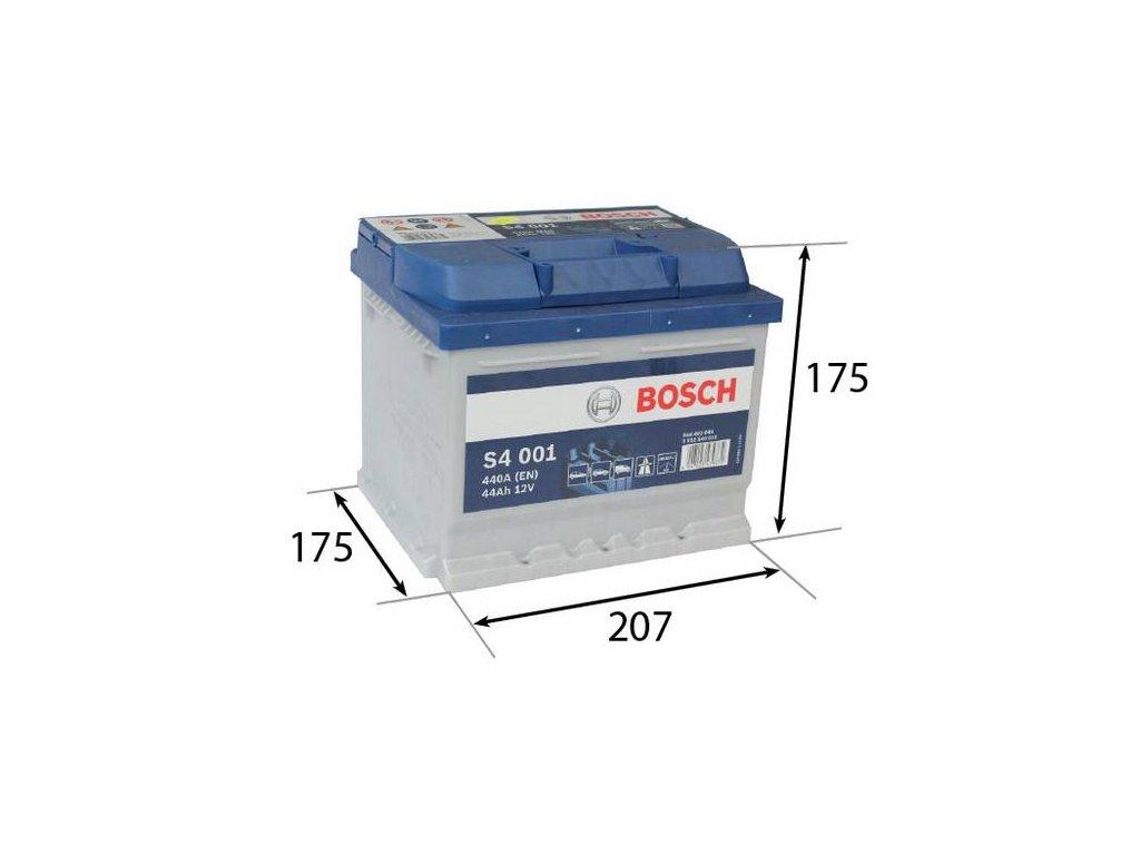 Startovací baterie BOSCH S4 0 092 S40 010