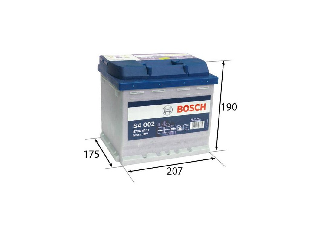 Startovací baterie BOSCH S4 0 092 S40 020