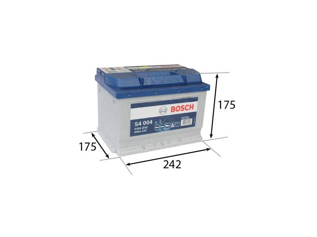 Startovací baterie BOSCH S4 0 092 S40 040