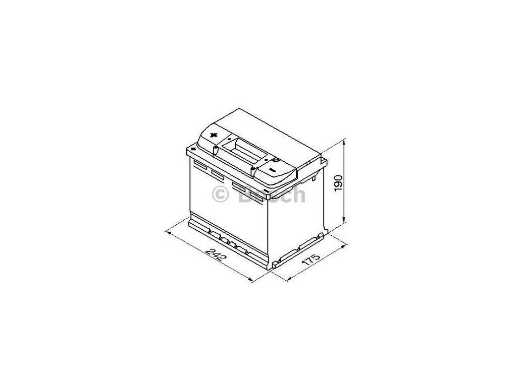 Startovací baterie BOSCH S4 0 092 S40 060