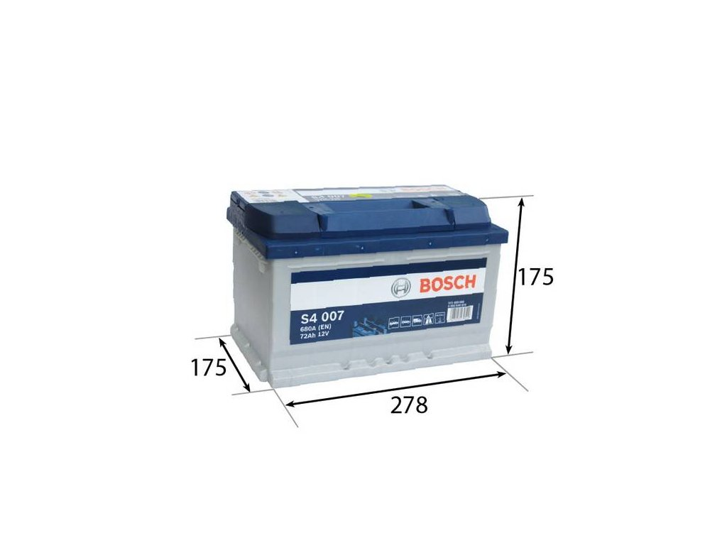 Startovací baterie BOSCH S4 0 092 S40 070