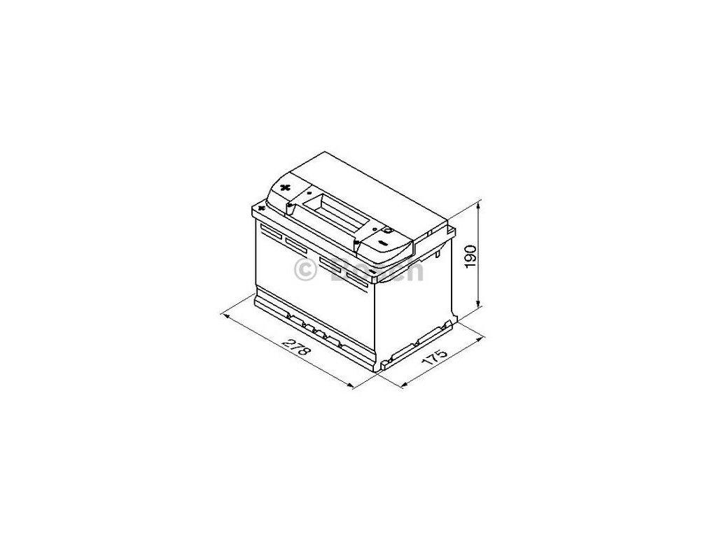 Startovací baterie BOSCH S4 0 092 S40 090