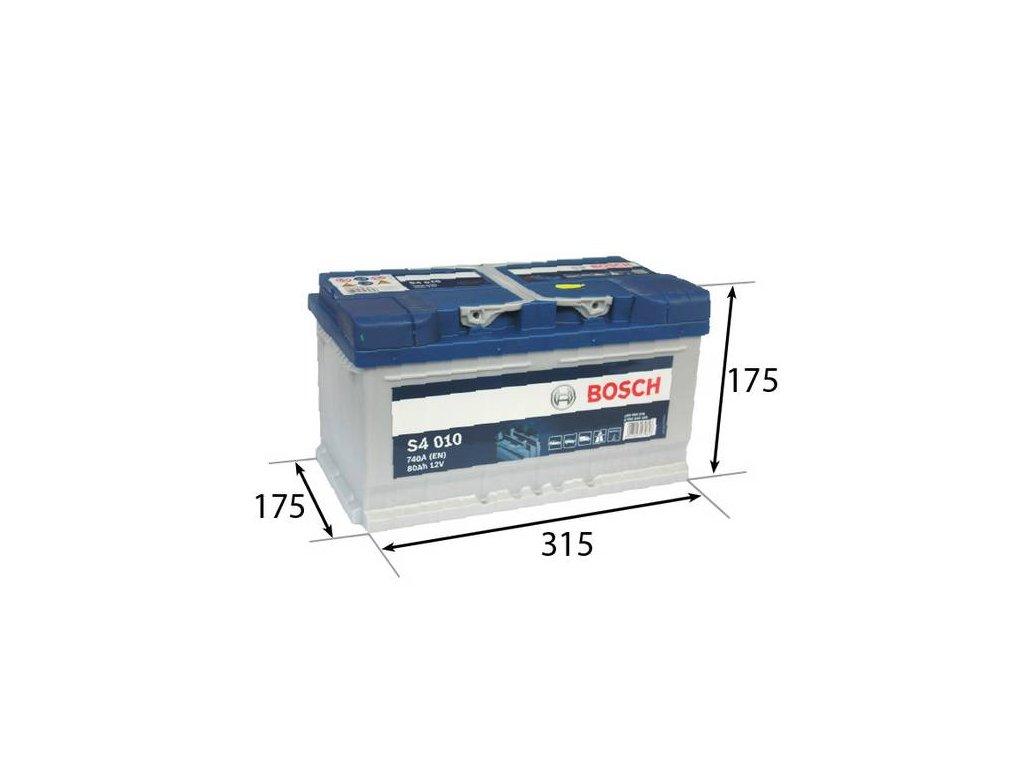 Startovací baterie BOSCH S4 0 092 S40 100