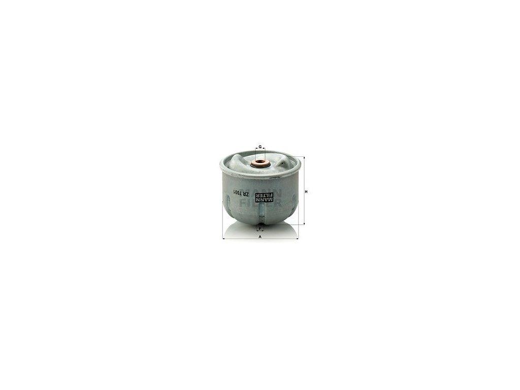 Olejový filtr MANN-FILTER ZR 7001
