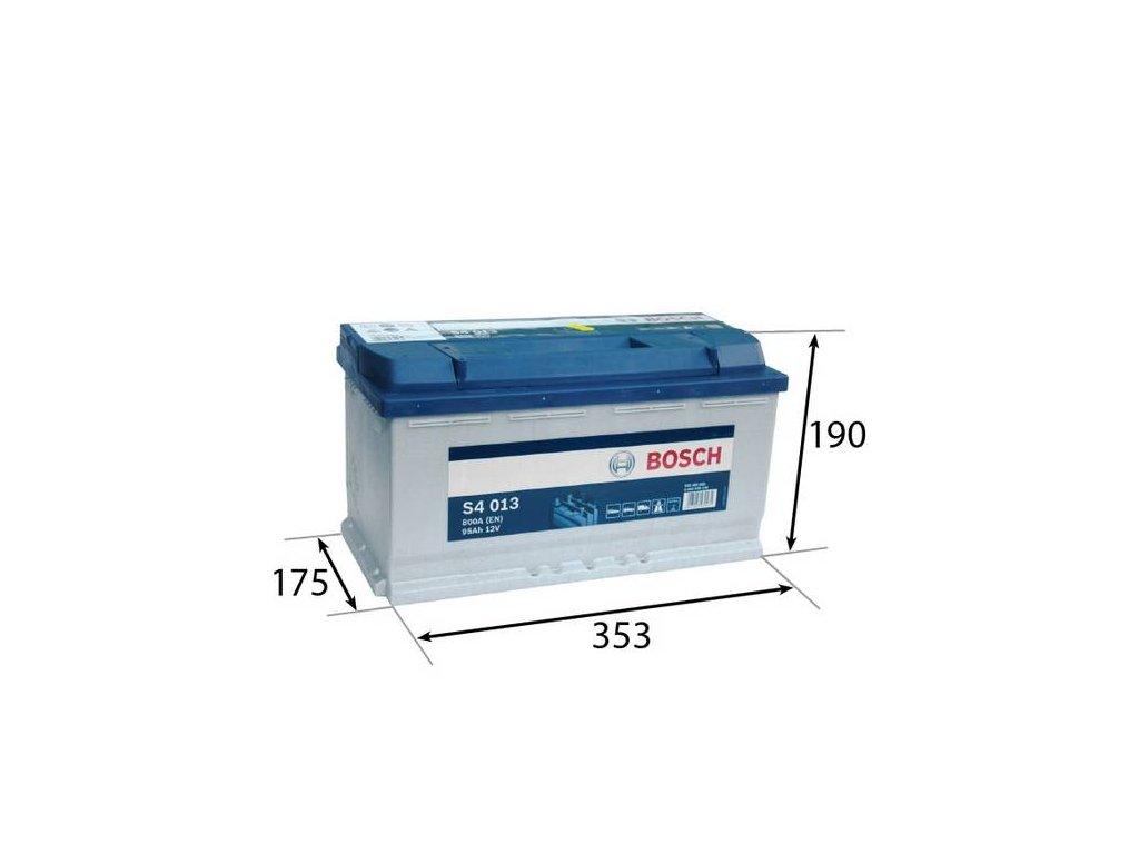 Startovací baterie BOSCH S4 0 092 S40 130