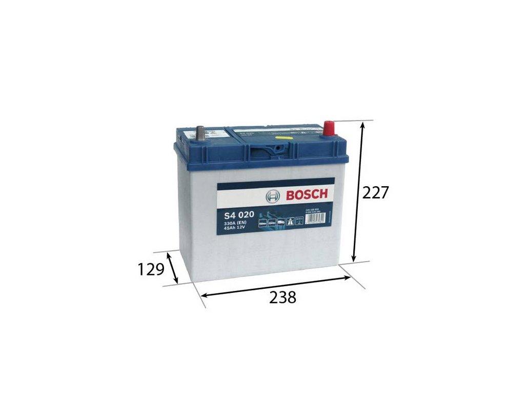 Startovací baterie BOSCH S4 0 092 S40 200