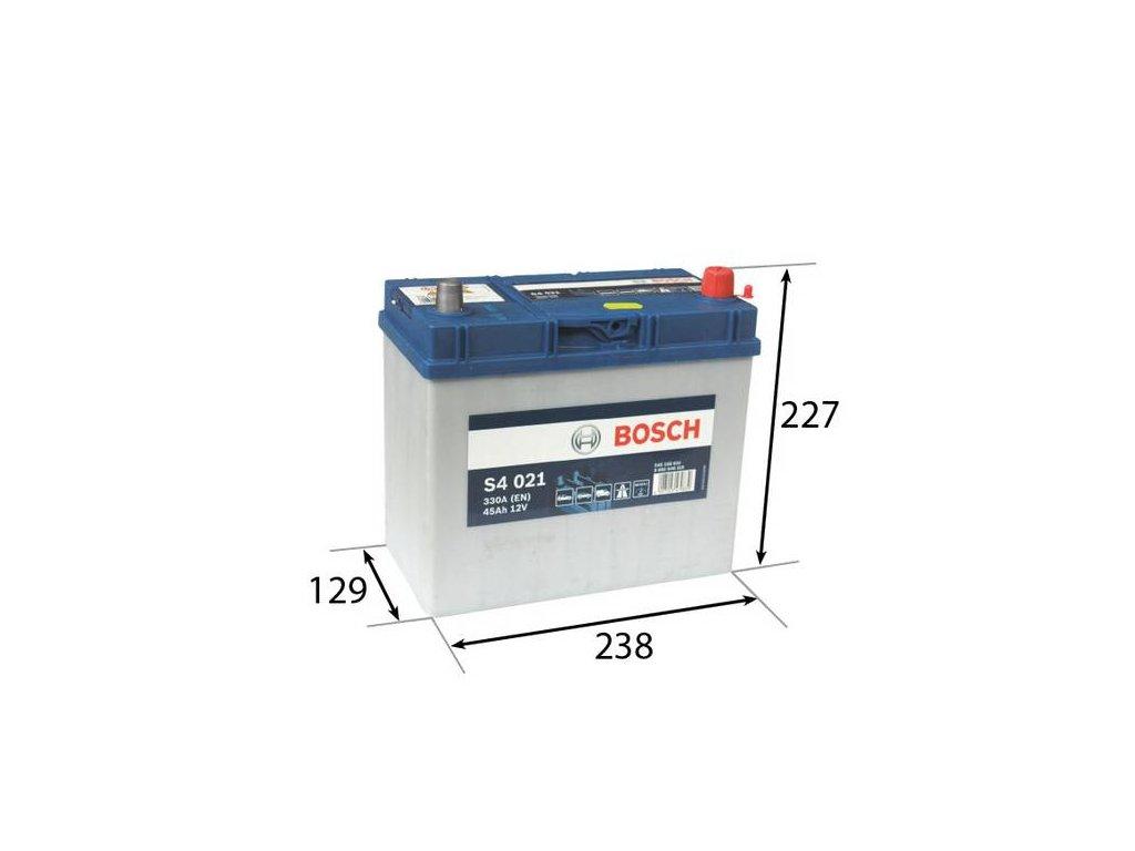 Startovací baterie BOSCH S4 0 092 S40 210