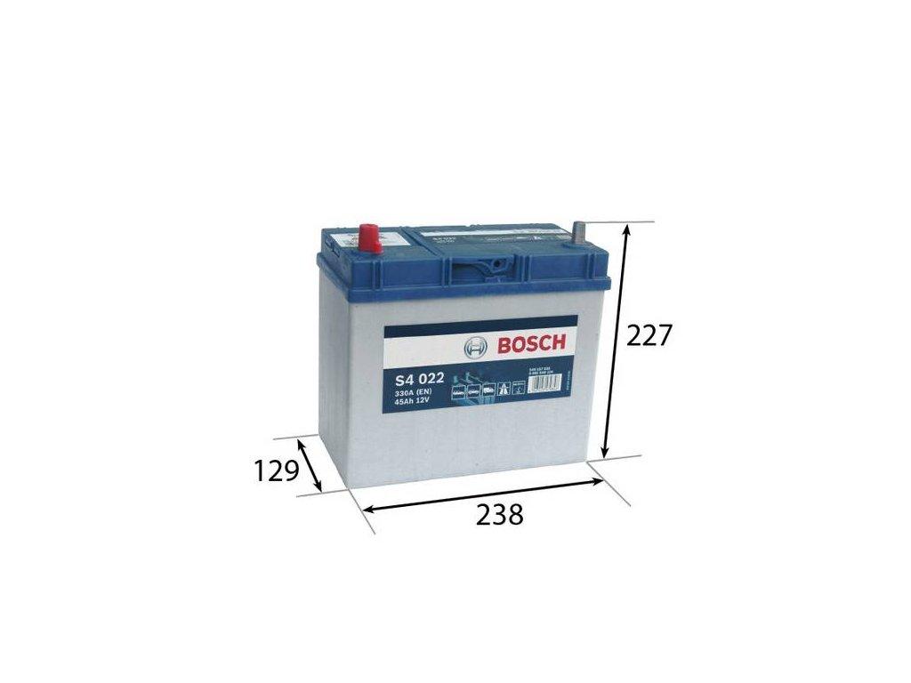Startovací baterie BOSCH S4 0 092 S40 220